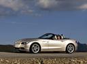 Фото авто BMW Z4 E89, ракурс: 45 цвет: бежевый
