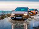 Новый ВАЗ (Lada) XRAY, коричневый , 2017 года выпуска, цена 660 900 руб. в автосалоне Лада Центр