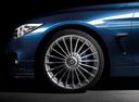 Фото авто Alpina B4 F32/F33, ракурс: колесо цвет: синий
