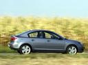 Фото авто Mazda 3 BK, ракурс: 270 цвет: серый