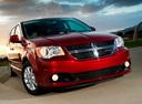 Фото авто Dodge Caravan 5 поколение [рестайлинг],  цвет: бордовый