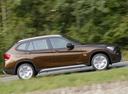 Фото авто BMW X1 E84, ракурс: 270 цвет: коричневый