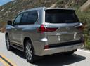 Фото авто Lexus LX 3 поколение [2-й рестайлинг], ракурс: 135 цвет: серый
