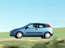 Фото авто Ford Focus 1 поколение, ракурс: 90 цвет: голубой