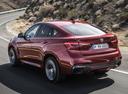 Фото авто BMW X6 F16, ракурс: 135 цвет: красный