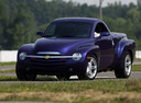 Фото авто Chevrolet SSR 1 поколение,  цвет: фиолетовый