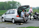Фото авто Kia Carens 2 поколение, ракурс: 135