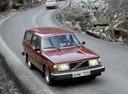 Фото авто Volvo 240 1 поколение, ракурс: 315 цвет: бордовый