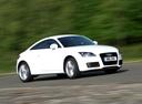 Фото авто Audi TT 8J [рестайлинг], ракурс: 315 цвет: белый