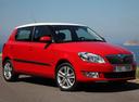 Фото авто Skoda Fabia 5J [рестайлинг], ракурс: 315 цвет: красный