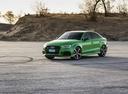 Фото авто Audi RS 3 8VA [рестайлинг], ракурс: 45 цвет: зеленый
