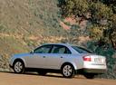 Фото авто Audi A4 B6, ракурс: 135 цвет: серебряный