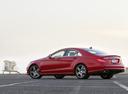 Фото авто Mercedes-Benz CLS-Класс C218/X218, ракурс: 90 цвет: красный