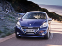 Фото авто Peugeot 208 1 поколение,  цвет: синий