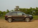 Фото авто Renault Koleos 1 поколение [2-й рестайлинг], ракурс: 270 цвет: коричневый