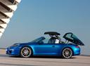 Фото авто Porsche 911 991, ракурс: 90 цвет: синий