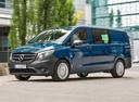 Фото авто Mercedes-Benz Vito W447, ракурс: 45 цвет: синий