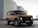 Фото авто ВАЗ (Lada) 4x4 1 поколение [2-й рестайлинг], ракурс: 315 цвет: коричневый