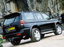 Фото авто Mitsubishi Pajero Sport 1 поколение, ракурс: 225