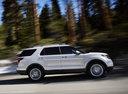 Фото авто Ford Explorer 5 поколение, ракурс: 270 цвет: белый