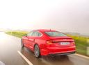 Фото авто Audi A5 2 поколение, ракурс: 135 цвет: красный