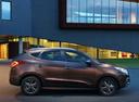 Фото авто Hyundai ix35 1 поколение [рестайлинг], ракурс: 270 цвет: коричневый