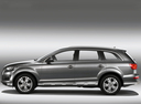 Фото авто Audi Q7 4L [рестайлинг], ракурс: 90 цвет: серый