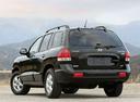 Фото авто Hyundai Santa Fe SM [рестайлинг], ракурс: 135 цвет: черный