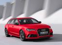 Фото авто Audi RS 6 C7 [рестайлинг], ракурс: 315 цвет: красный