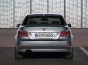 Фото авто BMW 5 серия E60/E61, ракурс: 180 цвет: серебряный