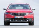 Фото авто Skoda Octavia 3 поколение [рестайлинг],  цвет: красный