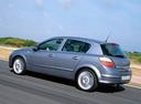 Фото авто Opel Astra H, ракурс: 135 цвет: серебряный