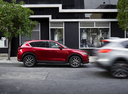 Фото авто Mazda CX-5 2 поколение, ракурс: 270 цвет: красный