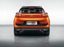 Фото авто Geely GS 1 поколение, ракурс: 180 цвет: оранжевый