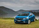 Фото авто Kia Cerato 3 поколение [рестайлинг], ракурс: 45 цвет: голубой