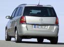 Фото авто Opel Zafira B, ракурс: 180 цвет: серебряный