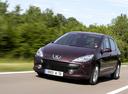 Фото авто Peugeot 307 1 поколение [рестайлинг], ракурс: 45 цвет: бордовый