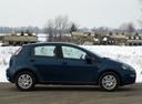 Фото авто Fiat Punto 3 поколение [2-й рестайлинг], ракурс: 270 цвет: синий