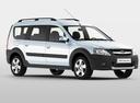 Фото авто ВАЗ (Lada) Largus 1 поколение, ракурс: 315 цвет: белый