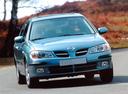 Фото авто Nissan Almera N16,  цвет: голубой