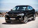 Фото авто BMW X6 F16, ракурс: 45 цвет: черный