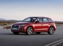 Фото авто Audi Q5 2 поколение, ракурс: 45 цвет: вишневый