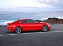 Фото авто Audi S5 F5, ракурс: 270 цвет: красный