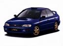 Фото авто Subaru Impreza 1 поколение, ракурс: 45 цвет: синий