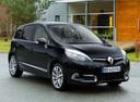 Фото авто Renault Scenic 3 поколение [2-й рестайлинг], ракурс: 45 цвет: черный