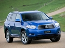 Фото авто Toyota Kluger XU40, ракурс: 315