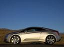 Фото авто Cadillac ELR 1 поколение, ракурс: 90 цвет: серебряный