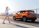 Фото авто Geely SX11 1 поколение, ракурс: 135 цвет: оранжевый