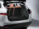 Фото авто Jaguar F-Pace 1 поколение, ракурс: багажник цвет: серебряный