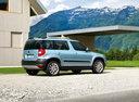 Фото авто Skoda Yeti 1 поколение, ракурс: 225 цвет: синий